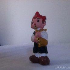 Vintage: FIGURA DE BARRO. ALBOROX. 7 CM. Lote 156904256