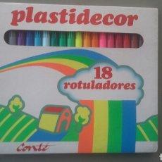 Vintage: ROTULADORES PLASTIDECOR E.G.B. Lote 157006198