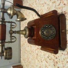 Vintage: TELEFONO DE MADERA ESTILO VINTAGE. Lote 157810998