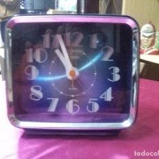 Vintage: RELOJ VINTAGE SOBREMESA BLANCO CITIZEN MEDIDAS 19X12 CM.BUEN ESTADO.. Lote 158209882