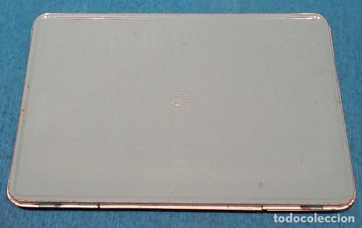 Vintage: Caja de acuarelas metalica decorada años 80. - Foto 4 - 158501830