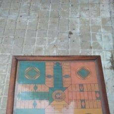 Vintage: TABLERO DE PARCHIS ANTIGUO. Lote 158631534