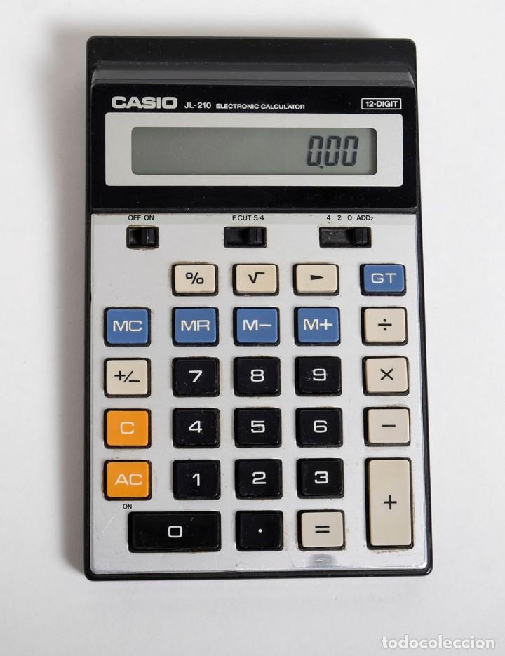 Vintage: Calculadora Científica CASIO mod. JL-210. 12 dígitos. Años 80. Funciona - Foto 3 - 159238386
