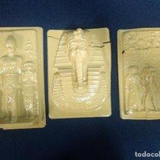 Vintage: MOLDES ESCAYOLA MOTIVOS EGIPCIOS. Lote 159637366