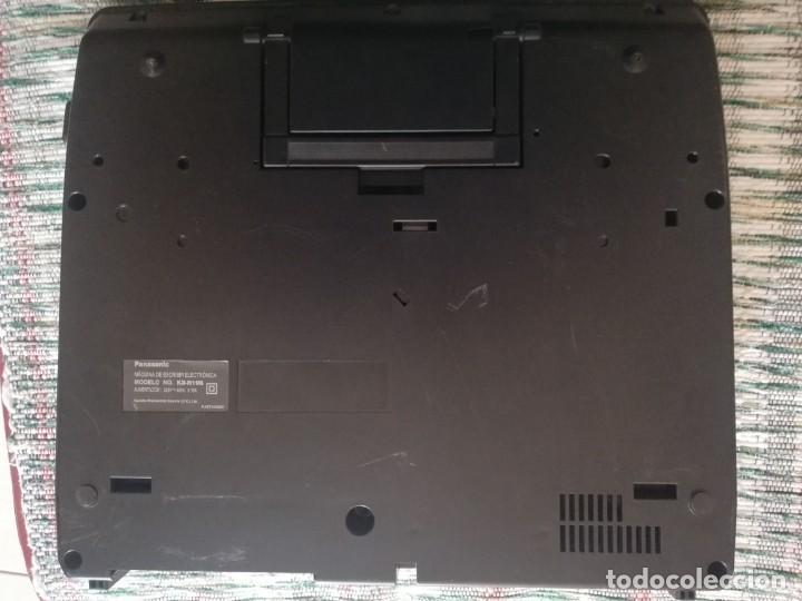 Vintage: Máquina de escribir electrónica Panasonic KX-R196 - Foto 7 - 160628330