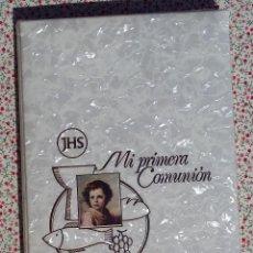 Vintage: ALBUM DE PRIMERA COMUNIÓN AÑOS 70-80 A ESTRENAR. Lote 160643638