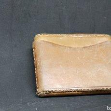Vintage: ANTIGUA PITILLERA PIEL - CAR144. Lote 160795429