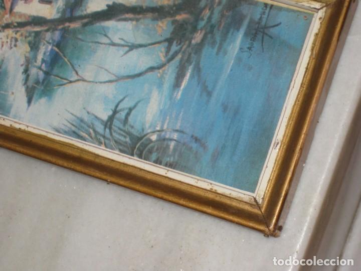 Vintage: Lote de 2 cuadros antiguos - Foto 7 - 161932290