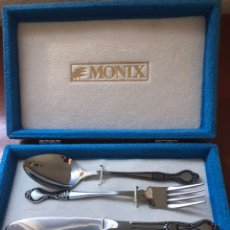 Vintage: MONIX CUBIERTOS ACERO INOXIDABLE 18/10. Lote 162482072