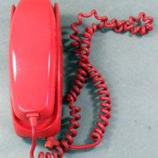Vintage: TELÉFONO GÓNDOLA CITESA SOBREMESA COLOR ROJO AÑOS 70. Lote 162935846
