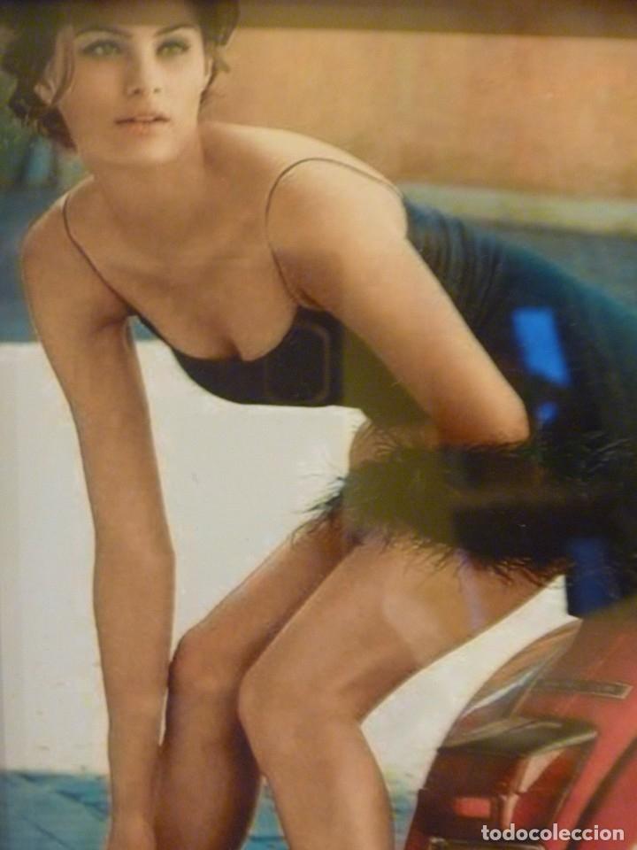 Composición Moto Vespa Y Chicas Sexy Erótica Motos Fotos Originales Ideal Regalo