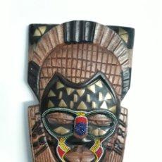Vintage: MÁSCARA AFRICANA. Lote 162978448
