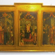 Vintage: TRIPTICO RELIGIOSO. Lote 163516574