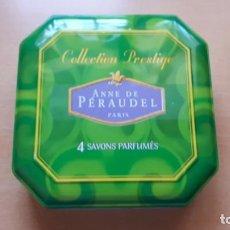 Vintage: CAJA DE 4 JABONES ANNE DE PERAUDEL PARIS. Lote 163761970