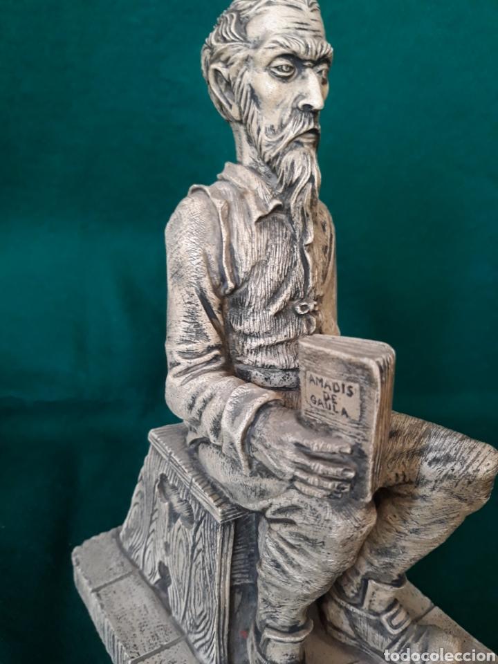 Vintage: Figura AMADIS de GAULA en resina ( hombre reflexionando sobre la lectura ) - Foto 2 - 164192544