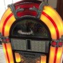Vintage: JUCKE BOX RADIO CASSETTE. CON LUZ. Lote 164839998