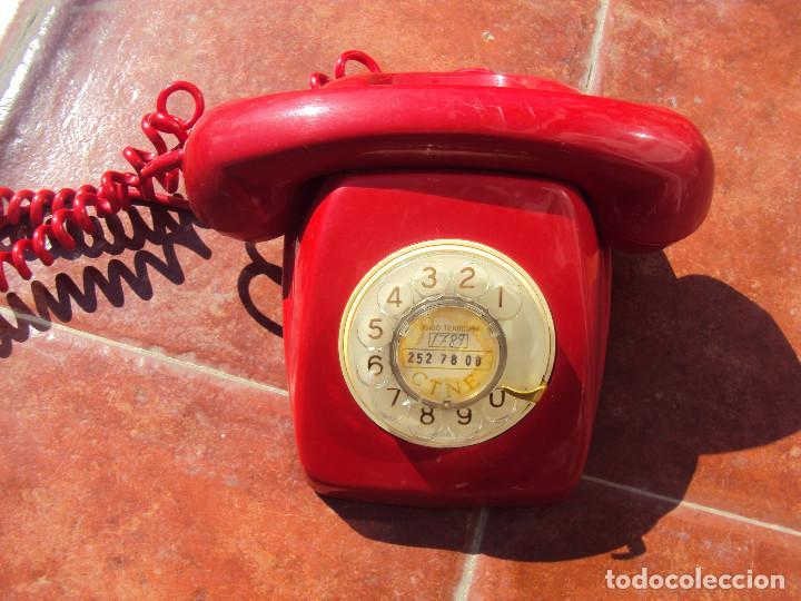 TELEFONO ROJO MEJOR QUE EN LAS FOTOS (Vintage - Varios)