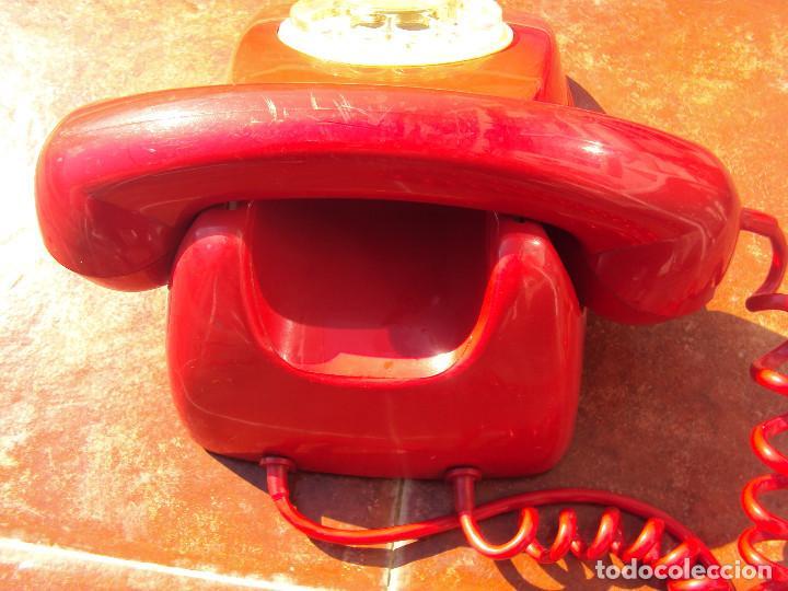 Vintage: TELEFONO ROJO MEJOR QUE EN LAS FOTOS - Foto 2 - 165214210