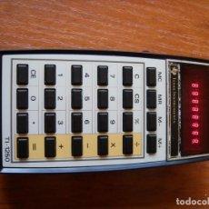 Vintage: CALCULADORA TEXAS INSTRUMENTS TI-1250 FUNCIONANDO LEDS ROJOS. Lote 166162358