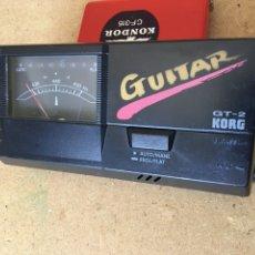 Vintage: KORG GUITAR TUNER GT-2. AFINADOR DE GUITARRA. Lote 166622410