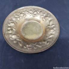 Vintage: PEQUEÑO PLATO BANDEJA DORADA 10 CM DIAMETRO - CAR147. Lote 166657982