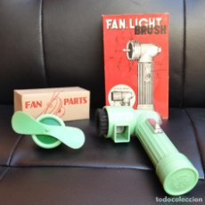 Vintage: FAN, LIGHT, BRUSH. PILOT STAR. AÑOS 60. Lote 166707418