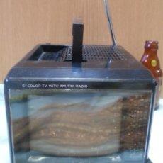 Vintage: TELEVISOR, MINI-TELEVISIÓN PORTATIL. VIEJO APARATO.. Lote 166768818
