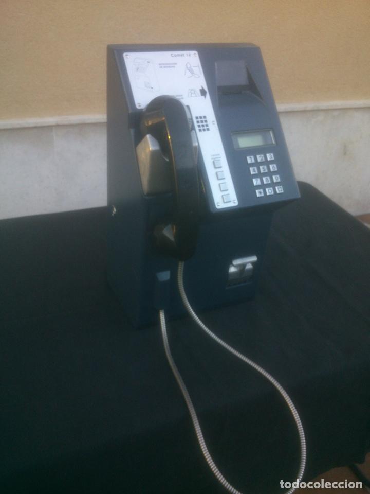 ANTIGUO Y ORIGINAL TELEFONO PUBLICO ESPAÑOL DE MONEDAS (Vintage - Varios)