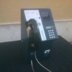 Vintage: ANTIGUO Y ORIGINAL TELEFONO PUBLICO ESPAÑOL DE MONEDAS. Lote 166815102
