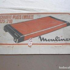 Vintage: CALENTADOR DE PLATOS. Lote 166915844