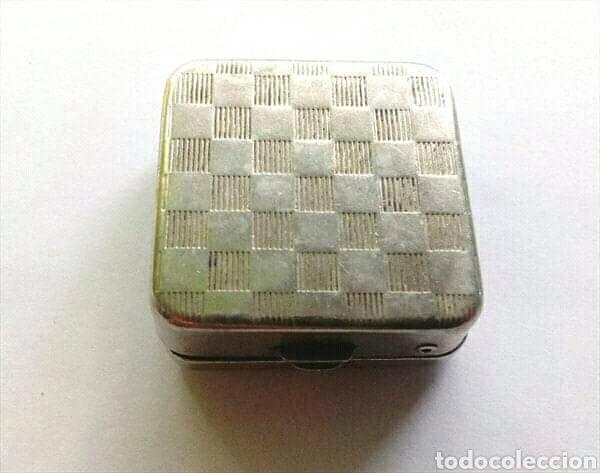 Vintage: Pastillero vintage de metal - Foto 3 - 166978301