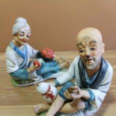 Vintage: PAREJA DE FIGURAS JAPÓN.. Lote 167300485