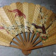 Vintage: ABANICO MADERA. Lote 167576964