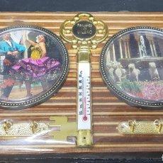 Vintage: RECUERDO DE BILBAO - TERMOMETRO CUELGA LLAVES - CAR148. Lote 167828041