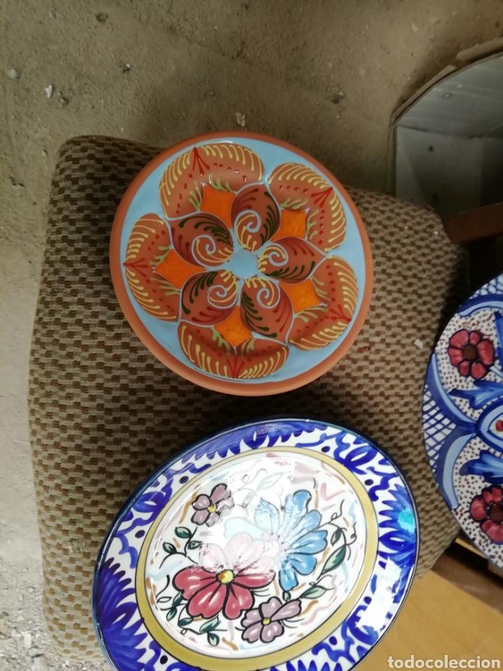 Vintage: Plato decorativo con formas. Relieve y Laboriosidad. - Foto 2 - 168206437