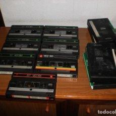 Vintage: CINTAS DE VÍDEO SISTEMA 2000 PHILIPS Y BASF. LOTE 7 UNIDADES. USADOS. Lote 168382220