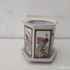 Vintage: MACETA ORIENTAL. Lote 168731028
