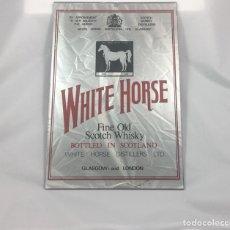Vintage: CUADRO ESPEJO PUBLICIDAD SCOTCH WHISKY WHITE HOURSE -(19222). Lote 169400586