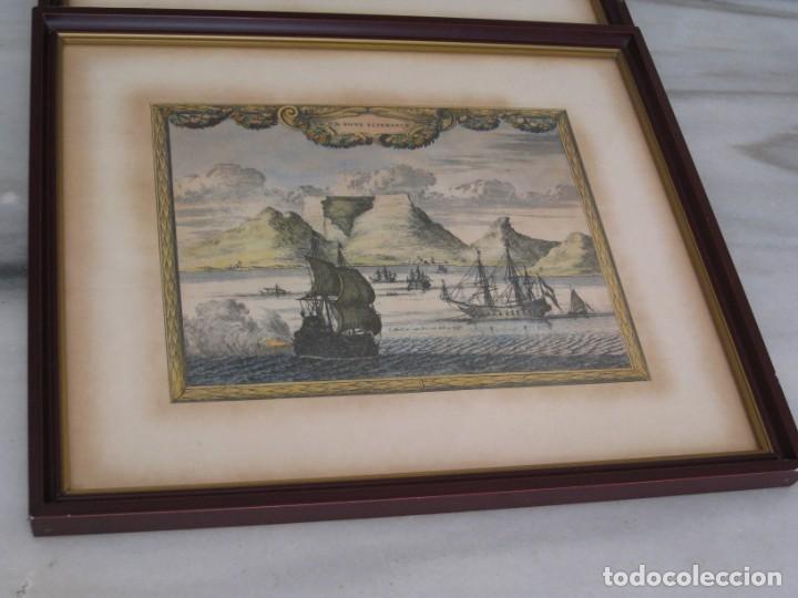 Vintage: Antiguos marcos con cristal y laminas papel. - Foto 2 - 169454456