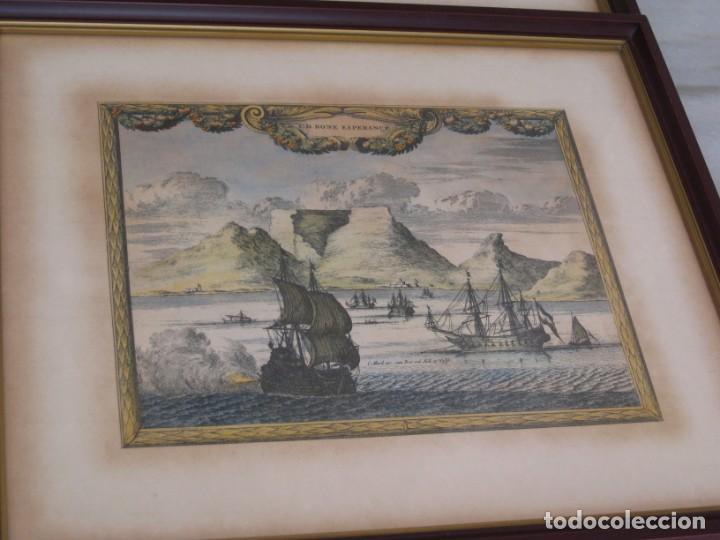 Vintage: Antiguos marcos con cristal y laminas papel. - Foto 3 - 169454456