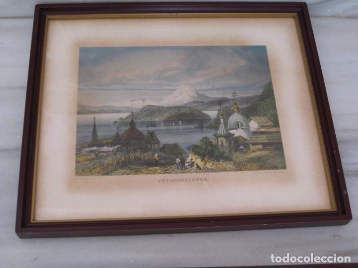 Vintage: Antiguos marcos con cristal y laminas papel. - Foto 4 - 169454456