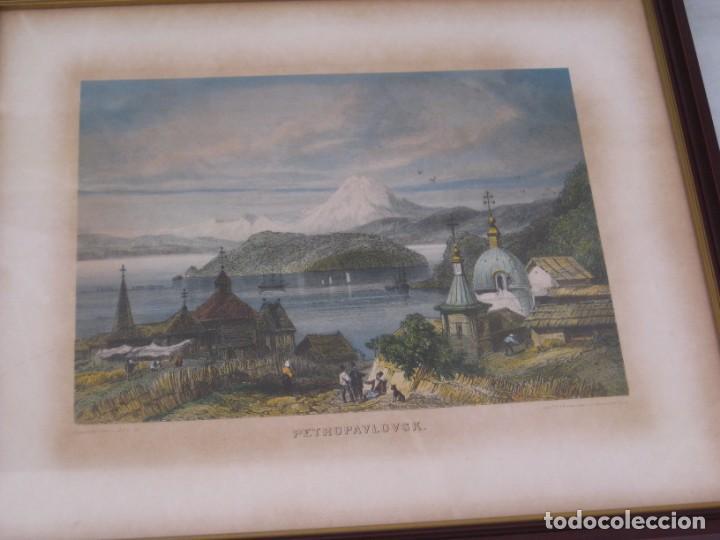 Vintage: Antiguos marcos con cristal y laminas papel. - Foto 5 - 169454456