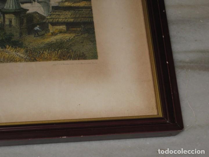 Vintage: Antiguos marcos con cristal y laminas papel. - Foto 6 - 169454456