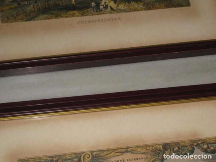 Vintage: Antiguos marcos con cristal y laminas papel. - Foto 7 - 169454456