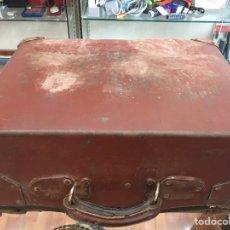 Vintage: MALETA ANTIGUA CARTON SIMIL PIEL. Lote 170068190