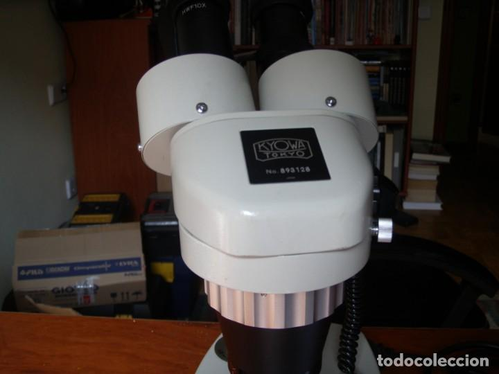 Vintage: MICROSCOPIO KYOWA SD-2PL MADE IN JAPAN COMO NUEVO - Foto 10 - 170200028