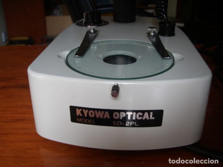 Vintage: MICROSCOPIO KYOWA SD-2PL MADE IN JAPAN COMO NUEVO - Foto 11 - 170200028
