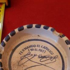Vintage: CENICERO FERNANDO EL CATOLICO. Lote 170201336