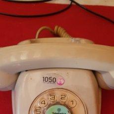 Vintage: TELEFONO HERALDO DE TELEFONICA ESPAÑA CTNE AÑOS 70 COLOR AZUL VERDE LIMPIO FUNCIONA. Lote 170204776