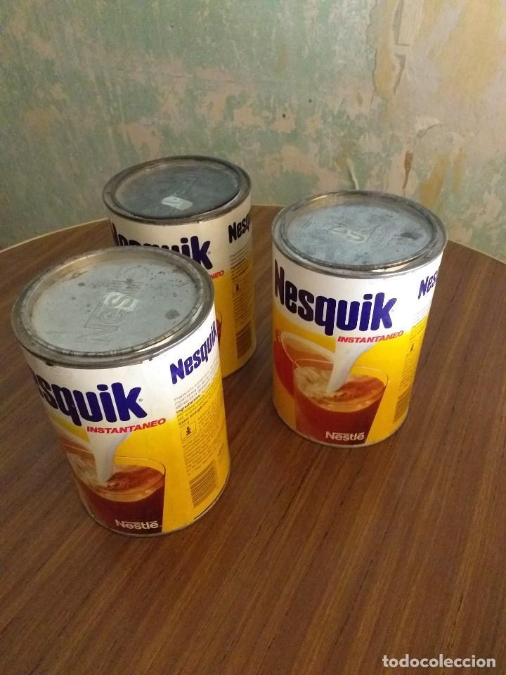 Vintage: Conjunto vintage de 3 botes de NESQUIK - Foto 3 - 171094958